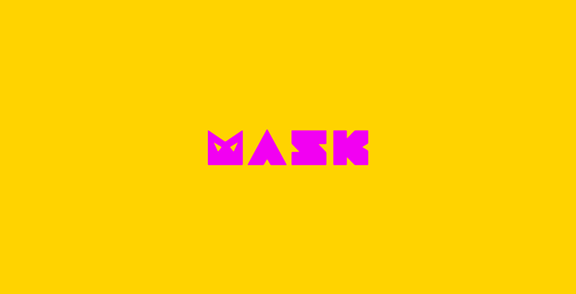 Mask Clever Wordmark / Verbicons