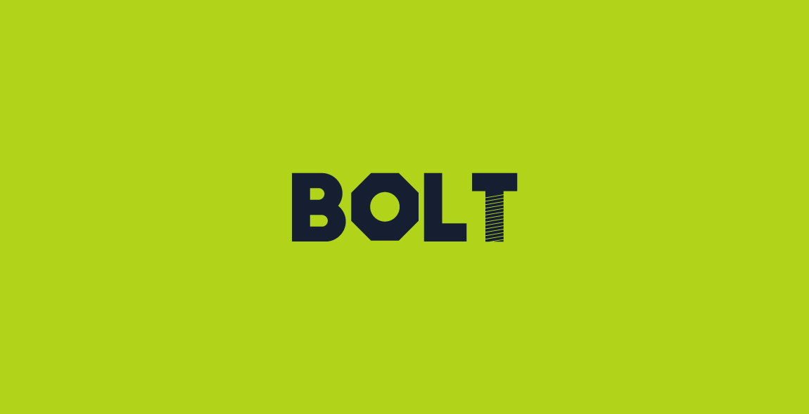 Bolt Clever Wordmark / Verbicons