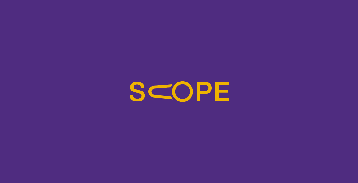 Scope Clever Wordmark / Verbicons