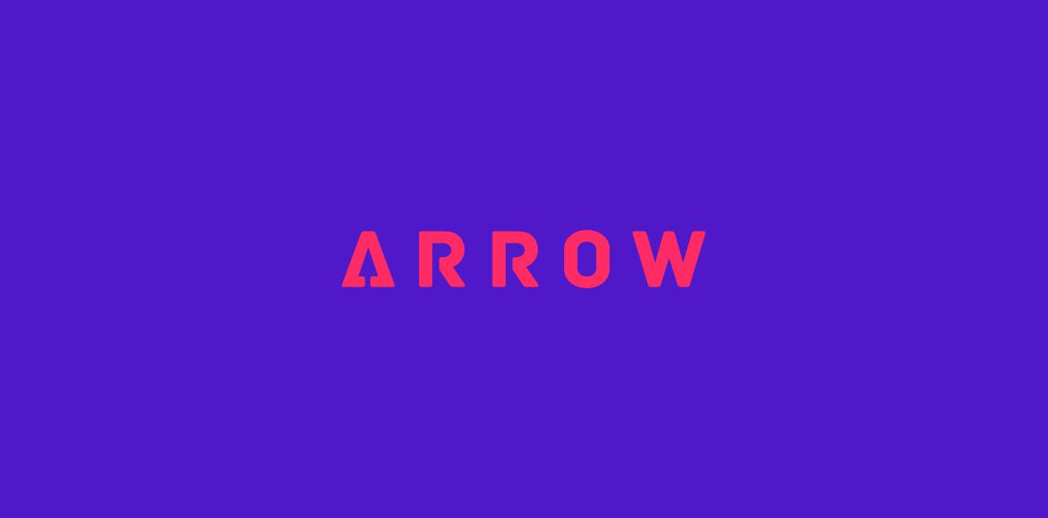 Arrow Clever Wordmark / Verbicons
