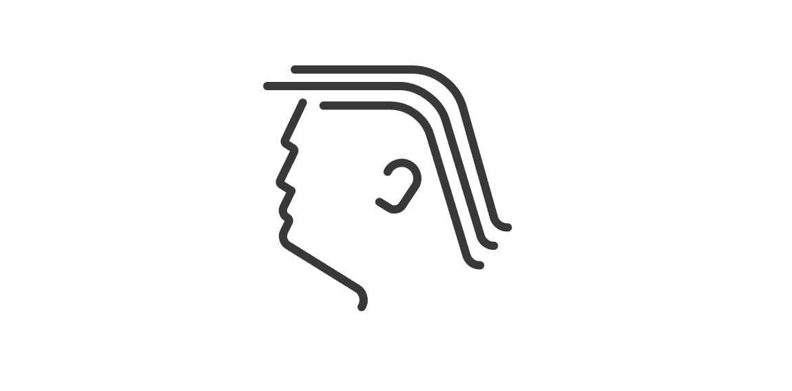 Trump Head Logo