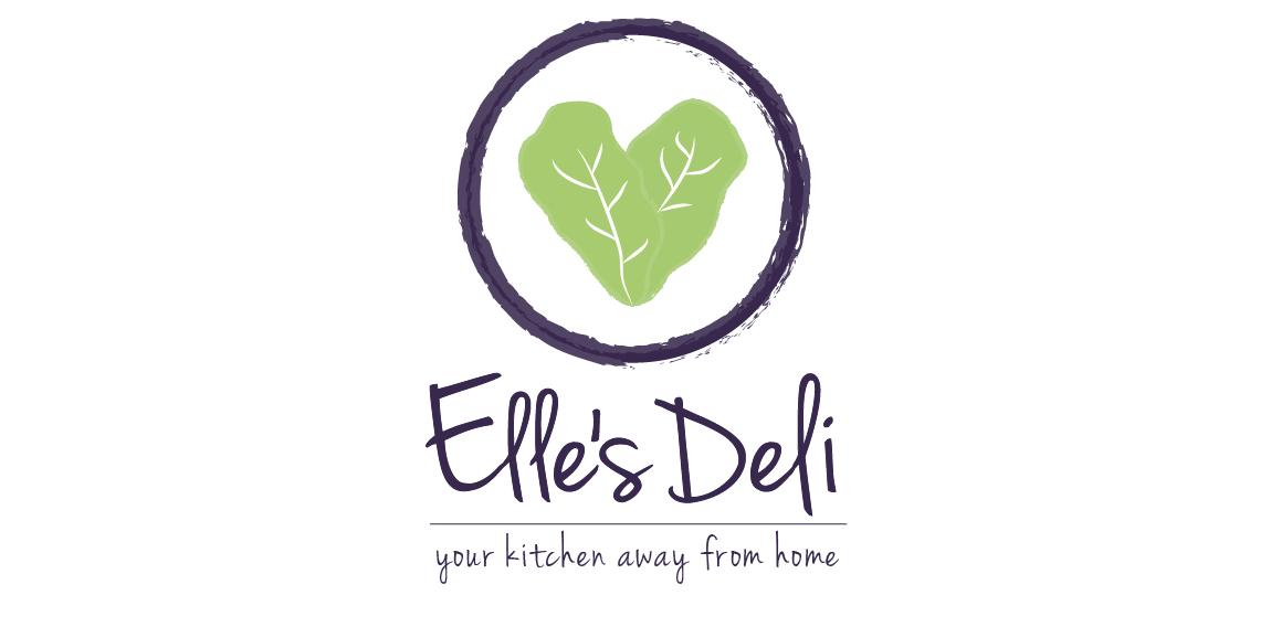 Ellies Deli Logo Design