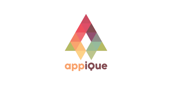 Appique logo design